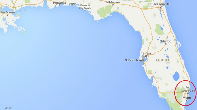 Mapa de Fort Lauderdale