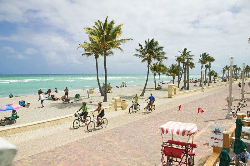 Hollywood Beach em Miami
