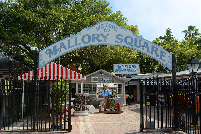 Mallory Square em Key West