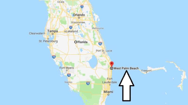 Mapa de Palm Beach