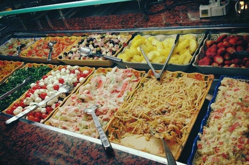 Cardápio no restaurante brasileiro Tony's Brazilian Grill em Orlando