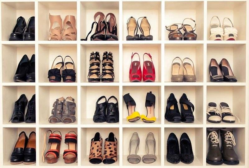 Compra de sapatos femininos em Miami