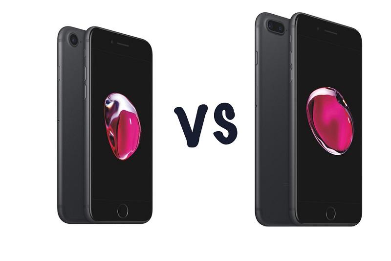 Diferença iPhone 7 e iPhone 7 Plus