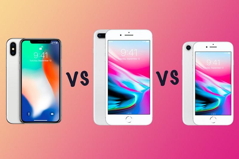 Diferença iPhone 8 e iPhone 10