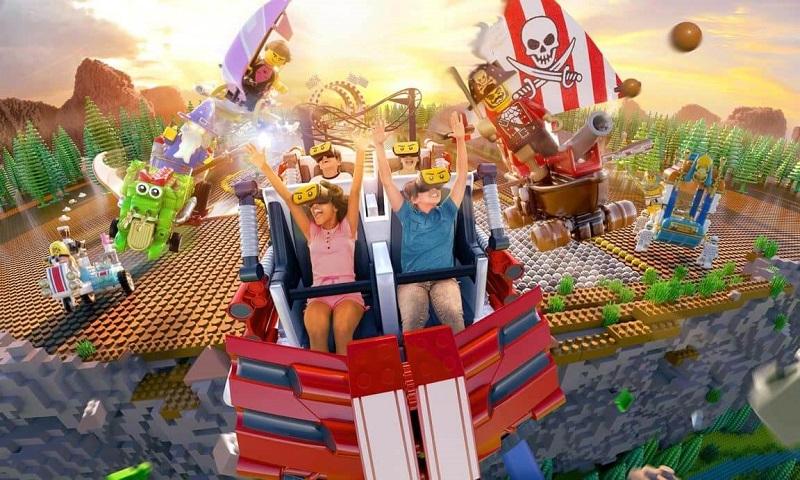Diversão e entretenimento no Legoland em Orlando