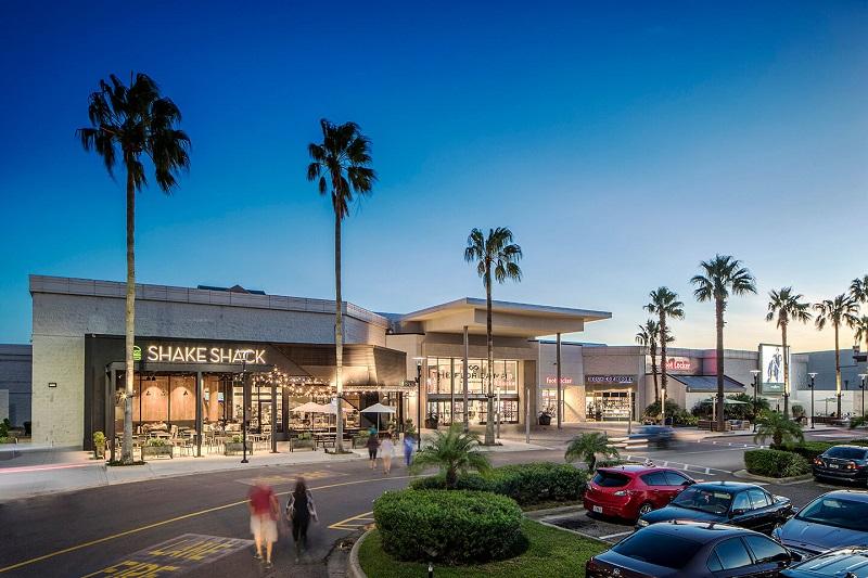 Estrutura do Shopping Florida Mall em Orlando
