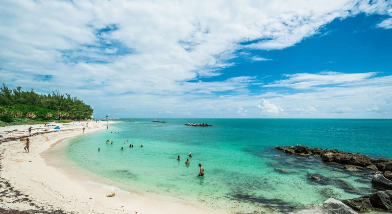 Praias de Key West: Fort Zachary Taylor Beach