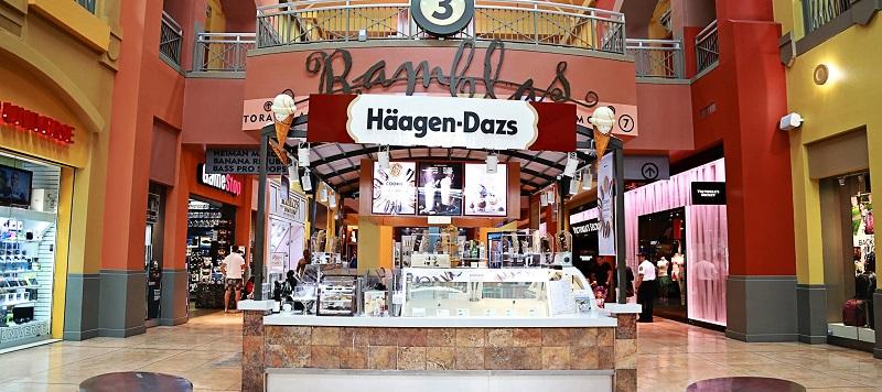 Sorveteria Häagen-Dazs em Miami