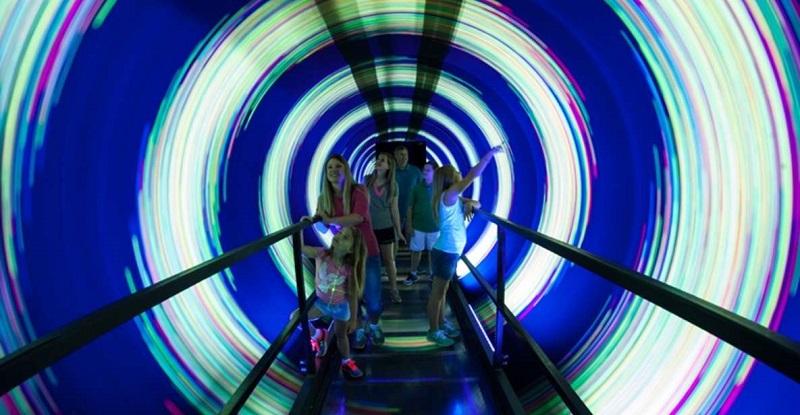 Atração Inversion Tunnel em WonderWorks