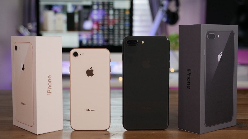 Diferença de tamanho do iPhone 8 e iPhone 8 Plus