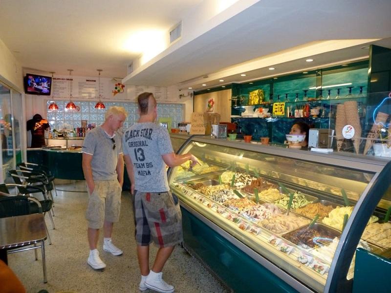 Sorveteria Lecca-Lecca Gelato Caffe em Miami