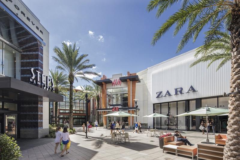 Loja Zara no Shopping Florida Mall em Orlando