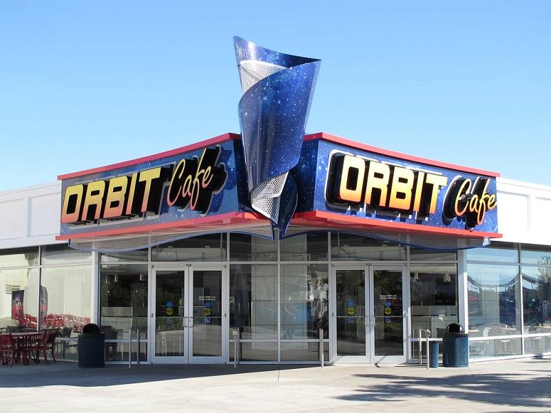 Lugares para comer no Parque Kennedy Space Center em Orlando