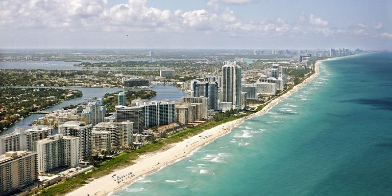 Junho e julho em Miami