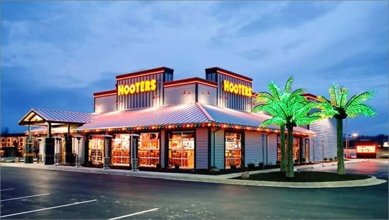 Restaurante Hooters em Miami e toda a Flórida