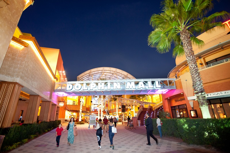 Shopping Dolphin Mall em Miami