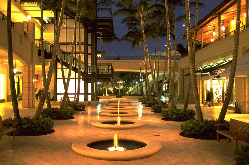 Beleza do Shopping Village Of Merrick Park em Miami