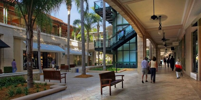 Shopping Village Of Merrick Park em Miami