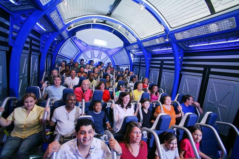 Shuttle Launch Experience no Parque Kennedy Space Center em Orlando
