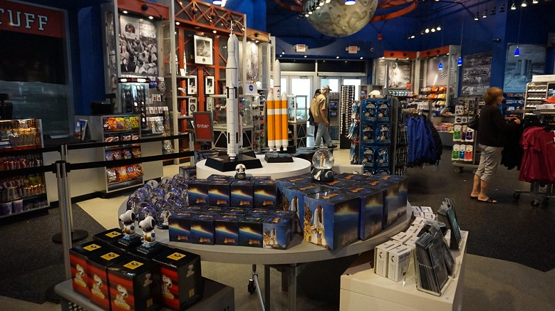 Space Shop da NASA no Parque Kennedy Space Center em Orlando