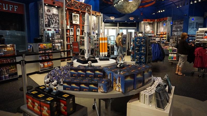 Space Shop da NASA no Parque Kennedy Space Center em Orlando