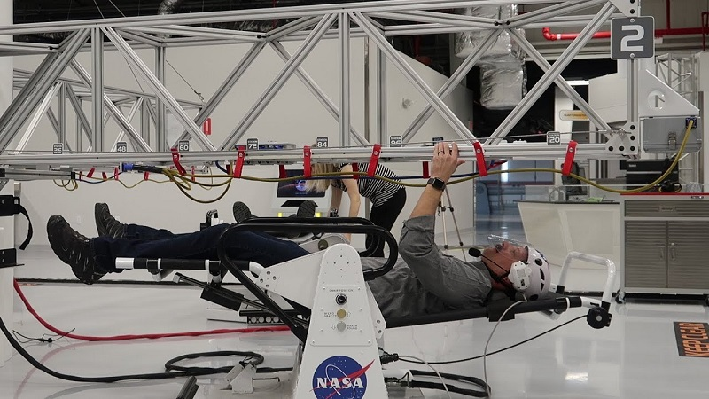 ATX - Astronaut Training Experience no Parque Kennedy Center Space em Orlando