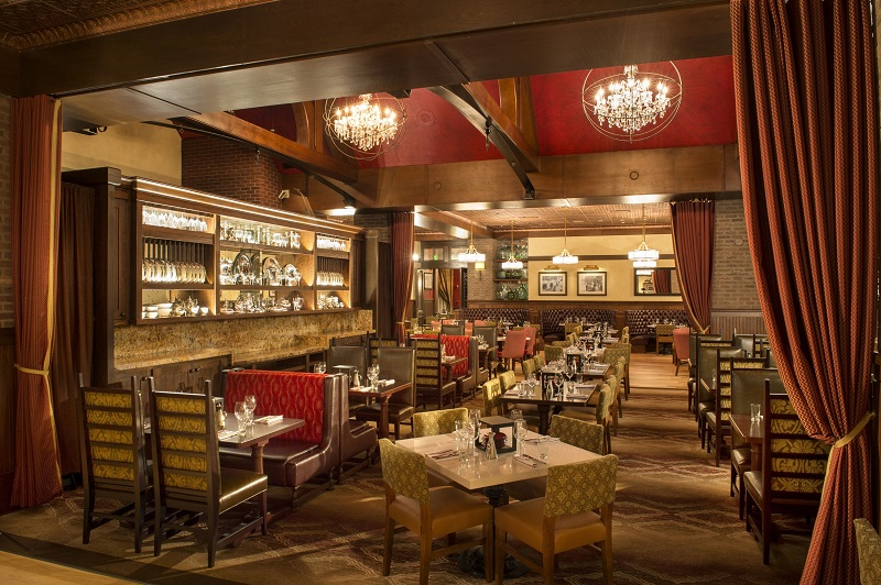 Restaurante Trattoria al Forno no Disney Boardwalk em Orlando