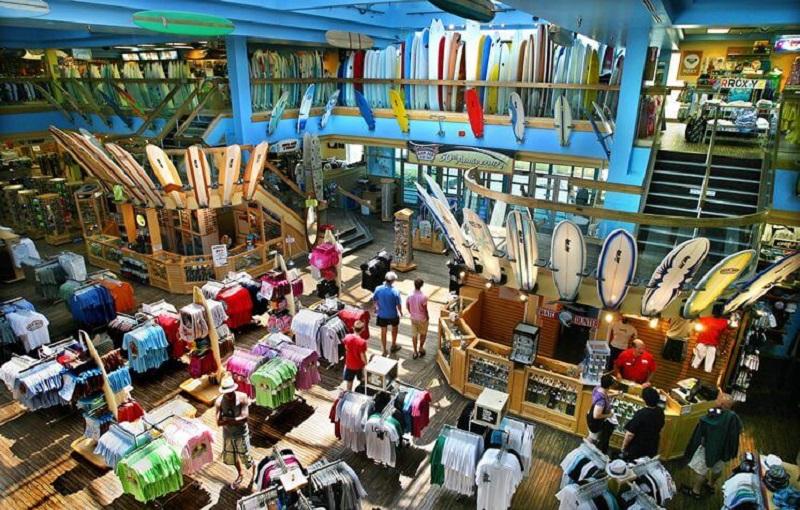Onde comprar coisas de surf em Orlando