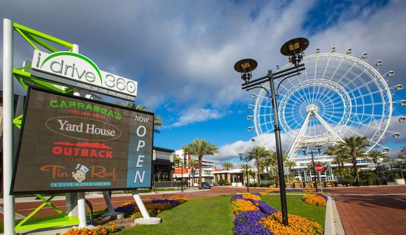I-Drive 360 na International Drive em Orlando
