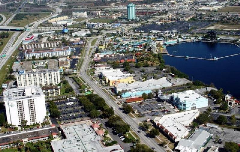 Localização da International Drive em Orlando