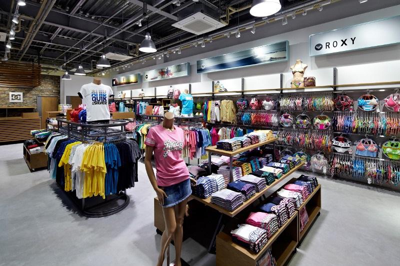 Comprar coisas de surf na loja Quicksilver em Orlando