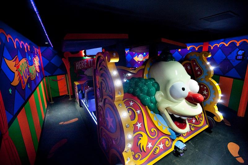 Brinquedo dos Simpsons no Universal Studios