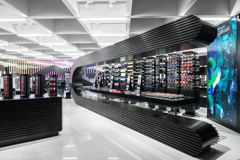 Área MAC na loja Macy's em Orlando